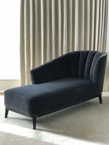1st Dibs Blue Notte Aphrodite Chaise