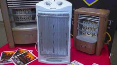 Collection of space heaters.