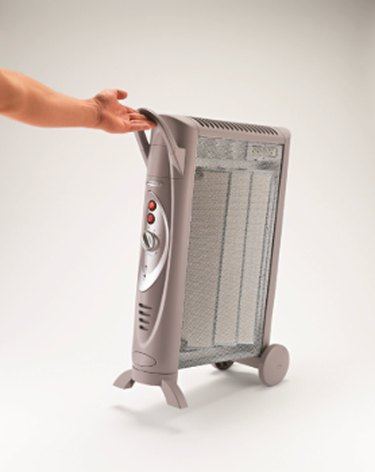 A micathermic heater.