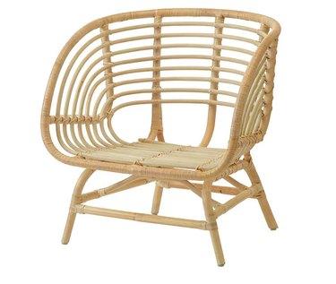 rattan armchair
