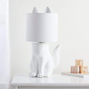Crate & Kids Fox Lamp