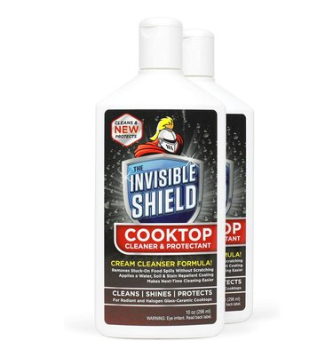 invisible shield glass stovetop cleaner
