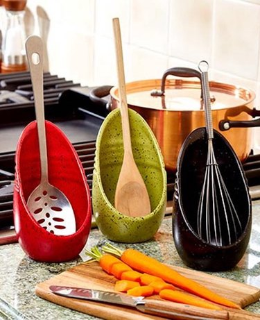 The Lakeside Collection Speckled Spoon Rest, $11.98