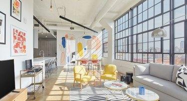 loft-style living room