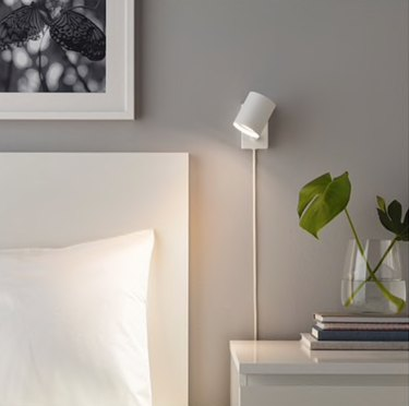 Nymane bedroom wall sconce from IKEA