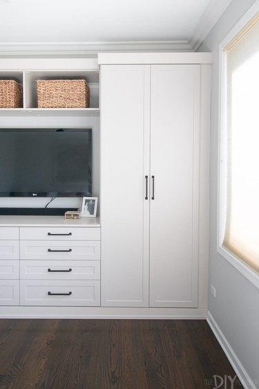 custom living room entertainment unit