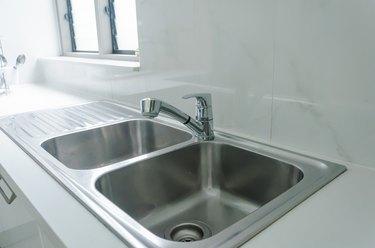 Close-Up Kitchen Sink