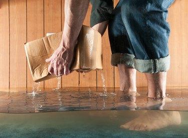 Flooded Basement.