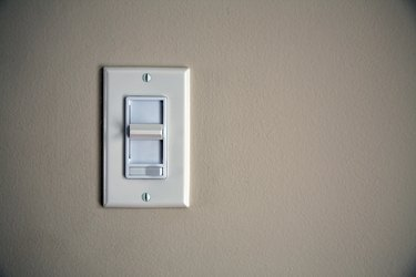 How to Install a Standard Switch From a Dimmer Switch