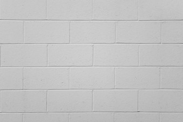 Simple Cinder Block Wall