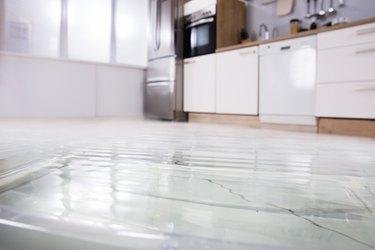 Close-up Of Wet Floor
