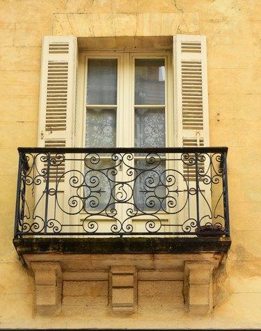 French Balcony.