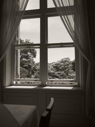 Vintage window.