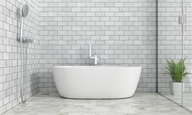 How to Clean Grout Haze With a Home Remedy