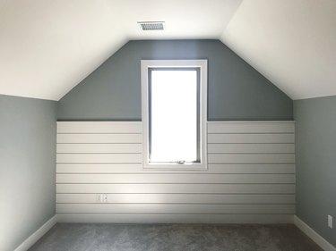 Shiplap Bedroom Nook.