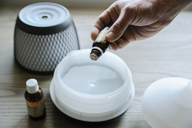 Ultrasonic aroma diffuser.