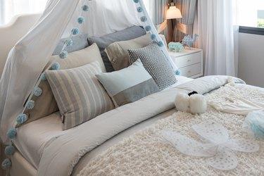 Classic bedroom.