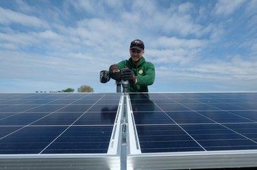 Solar Panels Installation In Hague