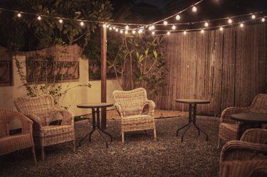 Cozy Backyard Patio Setup