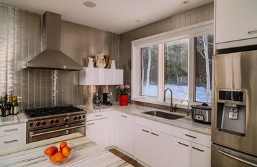 Installing a Stainless Steel Backsplash: A How-To Guide