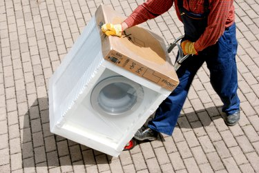 Delivery - new washing machine