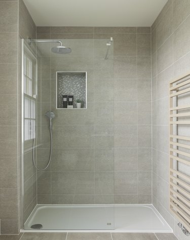 Shower in luxury UK house