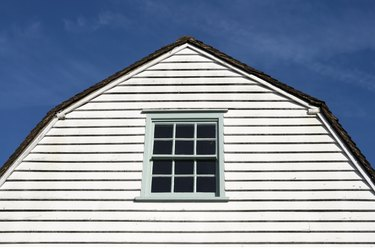 Gambrel gable