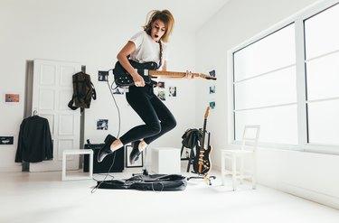 Guitar player.