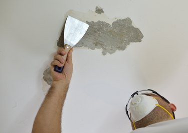 Scraping a wall