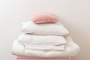 Clean bedding