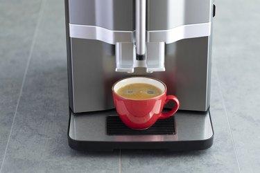 Making Coffee With Coffee Machine