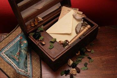 Antique ceder chest
