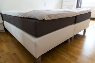 How to Move a Box Spring That Does Not Fit Upstairs