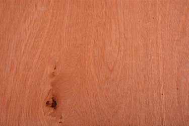 Luan or Philippine Mahogany with Knot