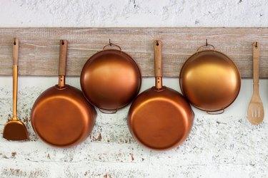 Copper  kitchen utensil