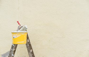How to Paint Walls When It's Raining