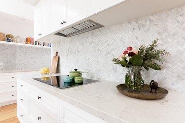 How to Measure for Herringbone Kitchen Tile