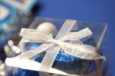 Blue present.