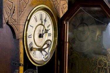 Clockface & key
