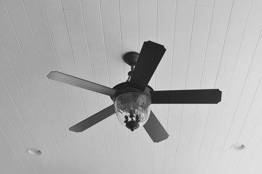 Ceiling Fan on Porch