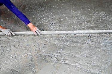 Cement concrete improvment floor ground building