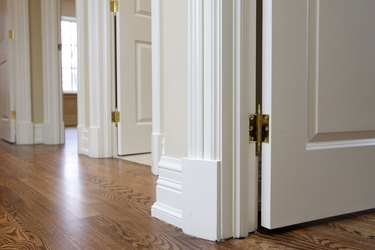 Room door trim