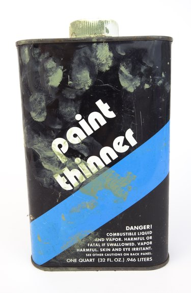 Paint thinner.
