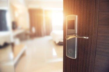 How to Reverse an Interior Door