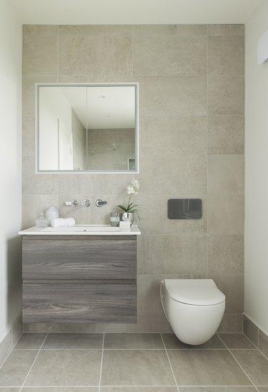 Bathroom in luxury UK house