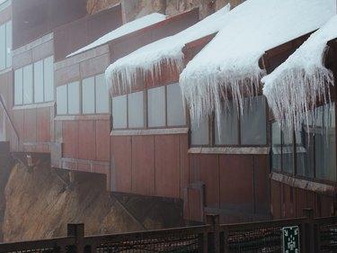 Frost Aguille du midi