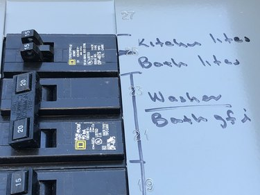 Electrical fuse box.