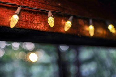 Holiday Outdoor String Lights