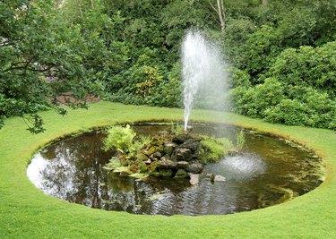 Ornamental Fountain.