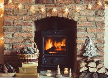 Christmas setting background